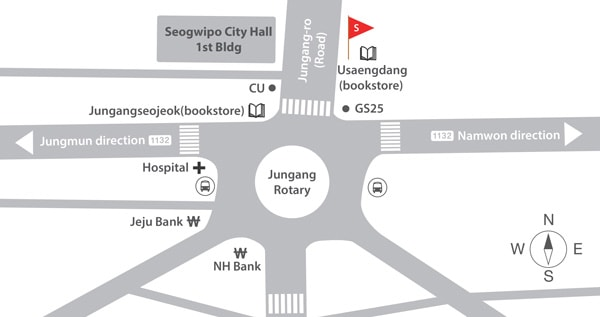 Seogwipo City Meet Location Map